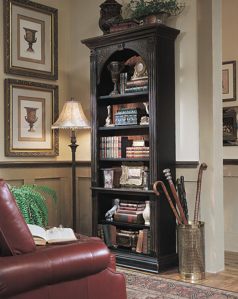 Hardwood bookcases office andreas furniture store Andreas furniture