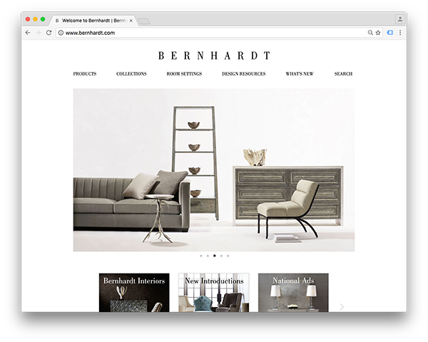 Click to visit the Bernhardt Website.