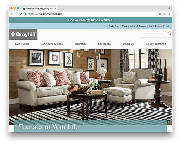 Broyhill Andreas Furniture